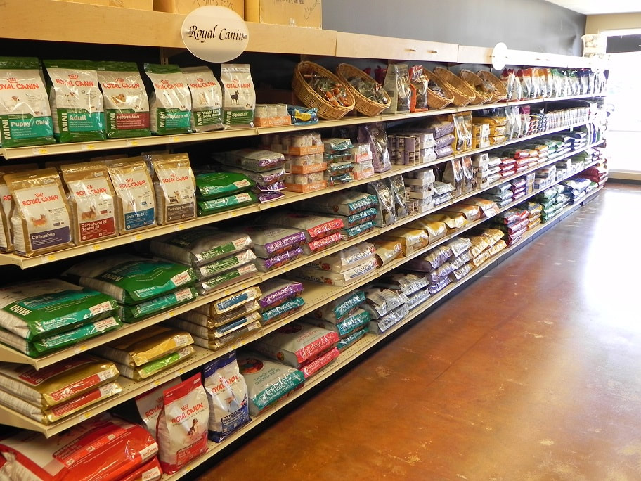 Dog and cat food available for sale at Fairwood Pet Center